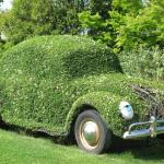Deko-Ideen24 Blog: Auto bewachsen