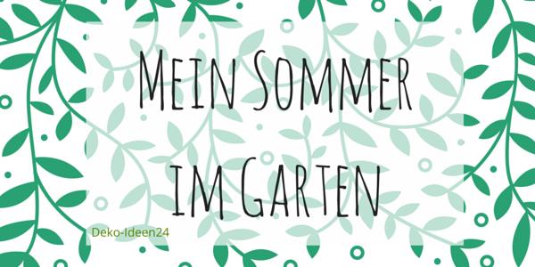 Deko-Ideen24 Blog: Ranken - Mein Sommergarten