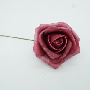 Foam-Rose erika Ø6cm 27Stk