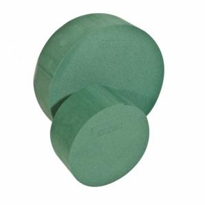 Oasis® Steckschaum Zylinder (Torte) für Frischblumengestecke 14x7cm