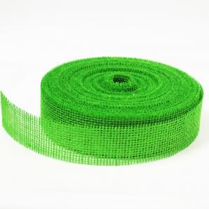 Juteband hellgrün 50mm x 40m