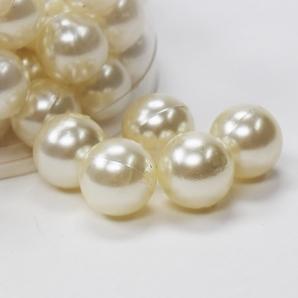 Perlen champagner Ø020mm 300g  ca.72Stk