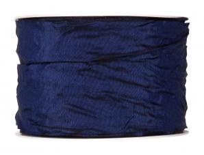 Plissee Taft blau 60mm10m