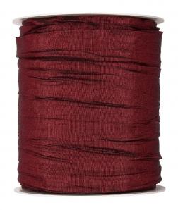 Plissee Taft bordeaux-rot 100mm10m