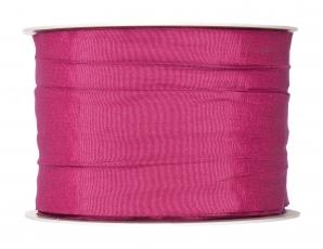 Plissee Taft pink 60mm10m