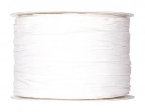 Plissee Taft weiß 60mm10m