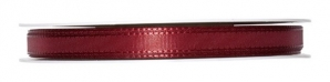 Satinband bordeauxrot 08mm x 50m