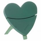Oasis® Deko-Herz Bioline® KLEIN mit Steckschaum für Frischblumen zum stellen 43,5x43x4cm(1St)