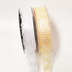 Hochzeit Dekoband Tauben in weiß oder creme 25mm10m