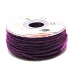 Dochtfaden Lehner Wollschnur lila-pink 5mm35m 1Stk