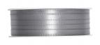 Doppel Satinband grau 06mm x 50m