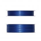 Doppel Satinband blau 50m in zwei Größen