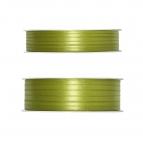 Doppel Satinband grün - oliv 50m in zwei Größen