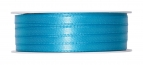 Doppel Satinband türkis 06mm x 50m