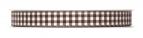 Karoband braun-weiß 10mm25m