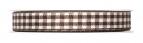Karoband braun-weiß 15mm25m