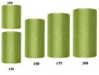 Kranzband grün - oliv in verschiedenen Breiten 25m auf der Rolle
