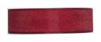 Dekoband Organza bordeaux-rot 25mm50m