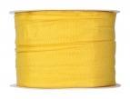 Plissee Taft gelb 60mm10m
