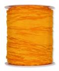 Plissee Taft orange 100mm10m