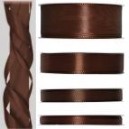 Satinband braun 50m in verschiedenen Größen