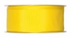 Satinband - Drahtkante gelb 40mm x 25m
