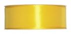 Satinband gelb 40mm x 50m