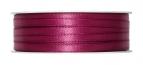 Doppel Satinband pink erika 06mm x 50m