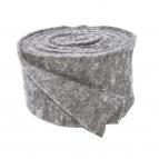 Wollvlies Topfband Lehner Wolle grau-hellgrau 13cm