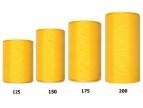 Kranzband gelb in verschiedenen Breiten  25m auf der Rolle