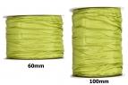 Plissee Taft grün-grün in versch. Breiten 10m