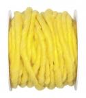 Wollschnur Wollband gelb 5mm10m