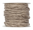 Wollschnur Wollband natur 5mm10m