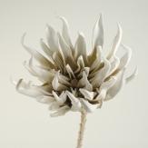 Foam Kunstblume Dahlie taube 90 cm (1St)
