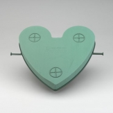 Auto Herz inkl. Vakuumsauger von Oasis 40x42x7,5cm
