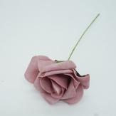 Foam-Rose mauve Ø6cm 27Stk