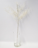 Glitterzweig weiß 68cm (3St)