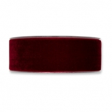 Samtband bordeaux 38mm x 9,5m