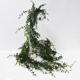 Tannengirlande grün mit Zapfen 180cm