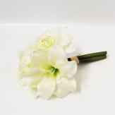 Amaryllisbund weiß 30cm