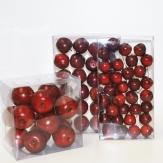 Deko Äpfel in rot verschiedene Größen