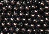 Deko Perlen brandy in zwei Größen