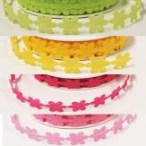 Blüten Dekoband Blütenkette in verschiedenen Farben 20mm9m