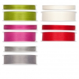 Dekoband Leinenoptik in verschiedenen Farben und Größen 25m