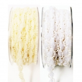 Perlen Dekoband mit Perlen in verschiedenen Farben 10mm10m