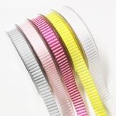 Dekoband Streifen in verschiedenen Farben 15mm20m