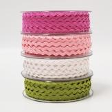 Litze Dekoband Zackenlitze in verschiedenen Farben 6mm20m