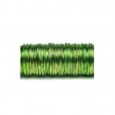 Dekodraht lackiert apfelgrün Ø 0,50mm50m