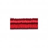 Dekodraht lackiert rot Ø 0,50mm50m