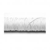 Dekodraht lackiert weiß Ø 0,50mm50m